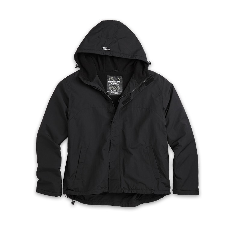 Яке Windbreaker Zipper Surplus Черно