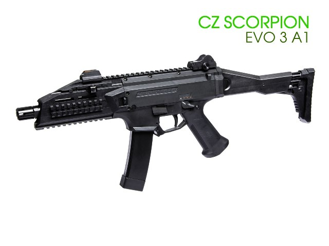 Airsoft карабина ASG CZ Scorpion EVO 3 A1
