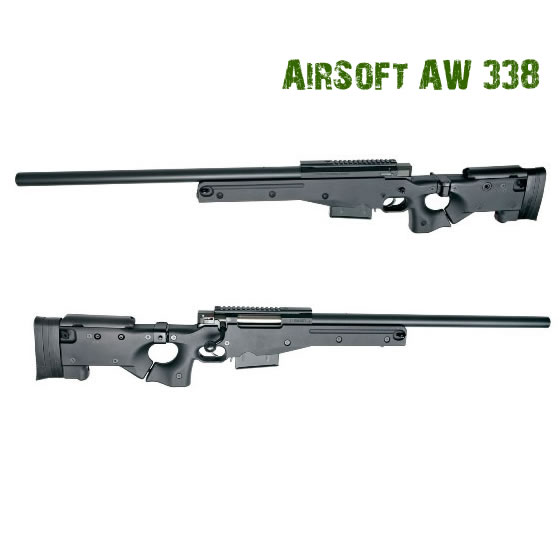 Airsoft карабина AW.338 Sniper