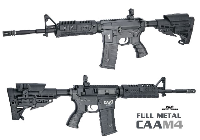 Airsoft карабина CAA M4/ Full metal AEG/ CAA Airsoft Division