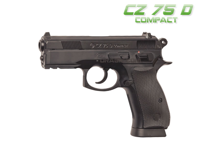 Airsoft пистолет CZ 75D Compact Metal / CO2