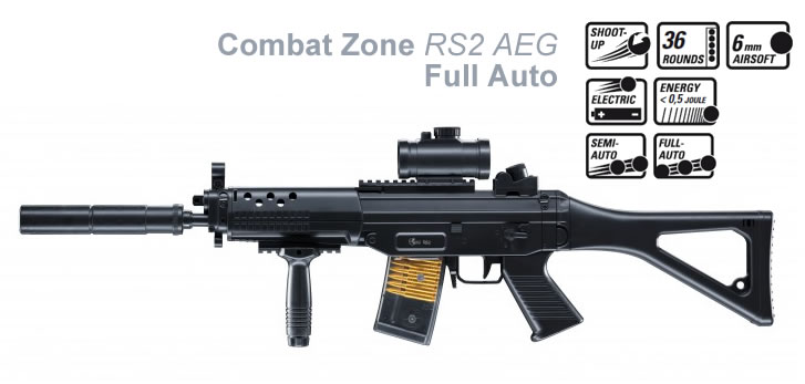 Airsoft Combat Zone RS2 Full-auto