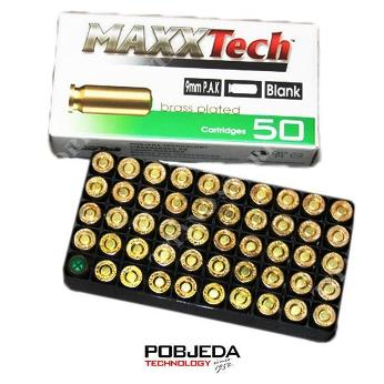 Калибър 9 мм Халосни Патрони Maxx Tech 450 Bar