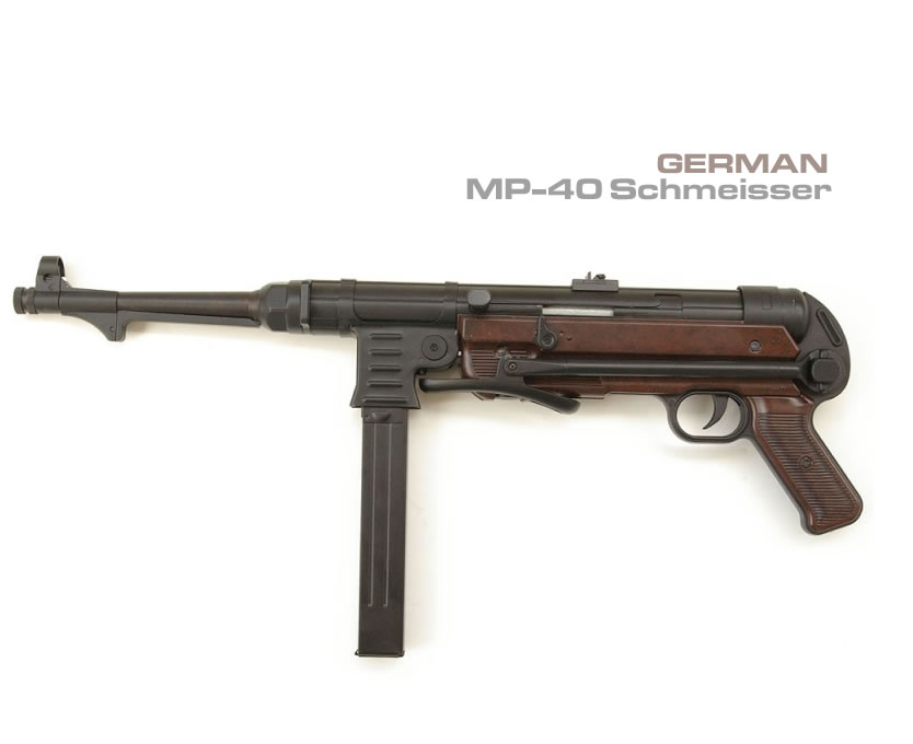 Airsoft Shmeisser MP-40 Full Metal
