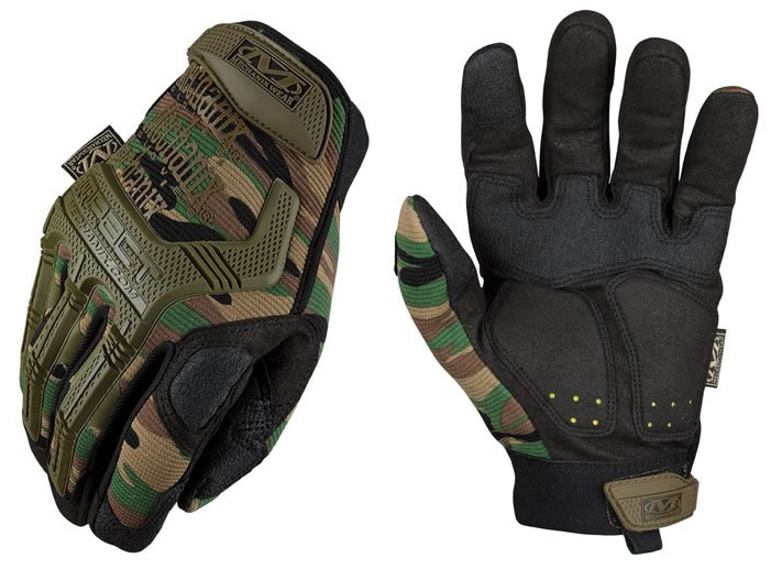 Тактически ръкавици Mechanix M-Pact Woodland