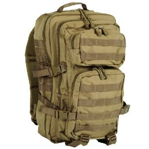 Раница Assault pack LGE 50 Liter Tan