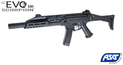 Airsoft карабина ASG CZ Scorpion EVO 3 A1 Carbine