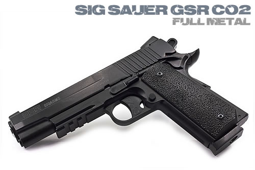 Airsoft пистолет Sig Sauer GSR Full Metal CO2