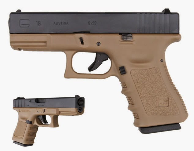 Airsoft пистолет Glock 19 G3 Tactical Tan