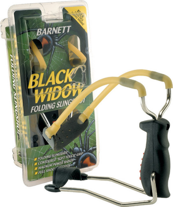 Прашка Barnett Black widow