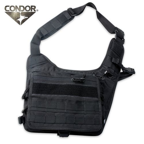 Чанта Condor Messenger Bag Черна