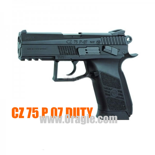Airsoft пистолет ASG CZ 75 P-07 Duty CO2