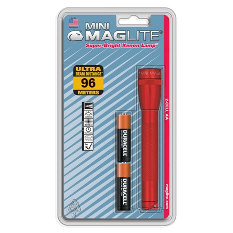 Фенер Mini Maglite 2-Cell AA