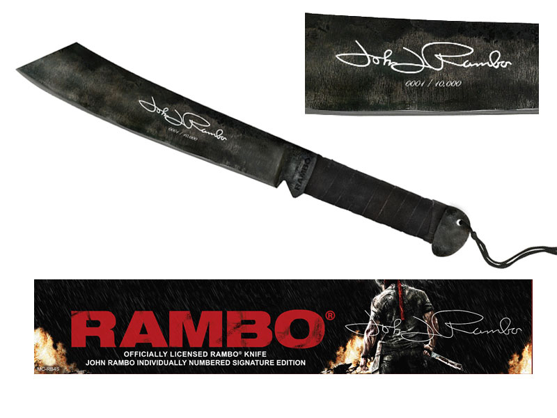 Мачете RAMBO IV SIGNATURE EDITION