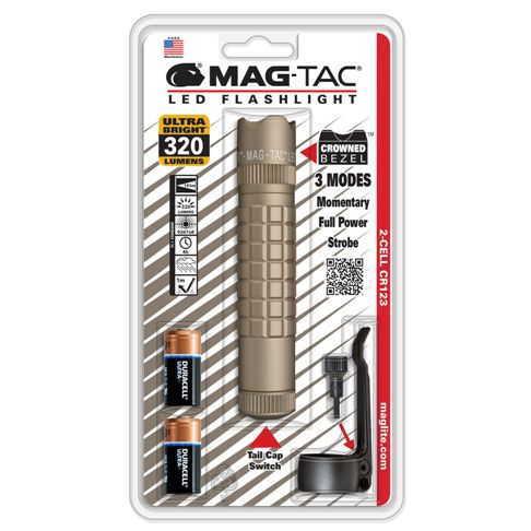"Фенер Maglite MAGTAC LED ""Crowned Bezel"""