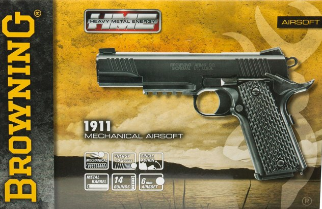 Airsoft пистолет Browning 1911 HME